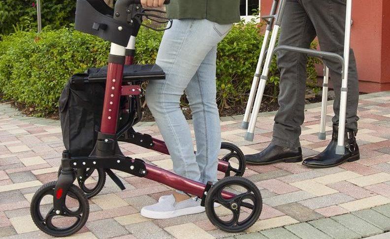 4 Wheel Rollator Walker