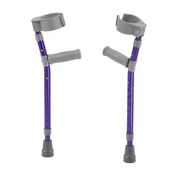 Crutches for child's forearms