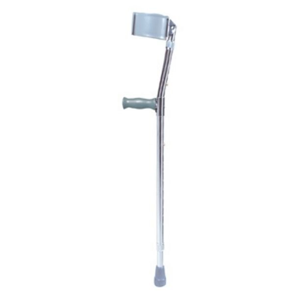 Crutches for the forearms made of steel