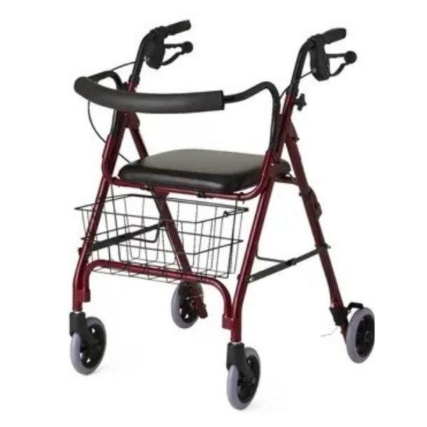 Deluxe 6 Wheels Rollator