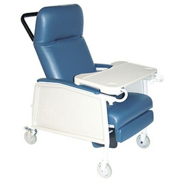 Geri Recliner Chair with 3 Positions for Bariatric Patients