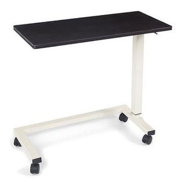 Over-the-Bed Table with Laminate Table and Sturdy Bottom