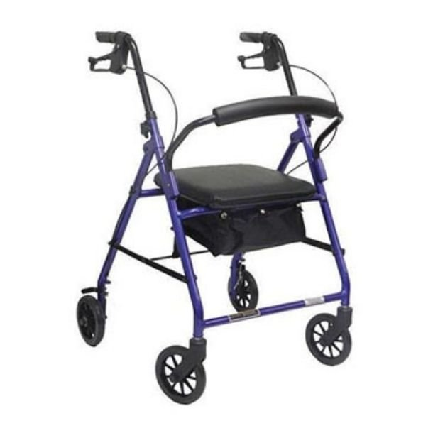 four & Six wheel Rollator with Brakes from ProBasics