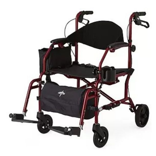 Four & Six-Wheel Rollator/Transport Chair by Excel