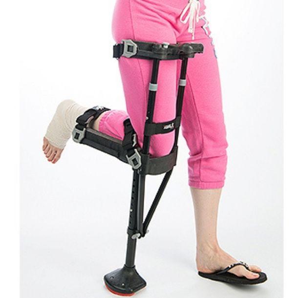 Hands-Free Crutch