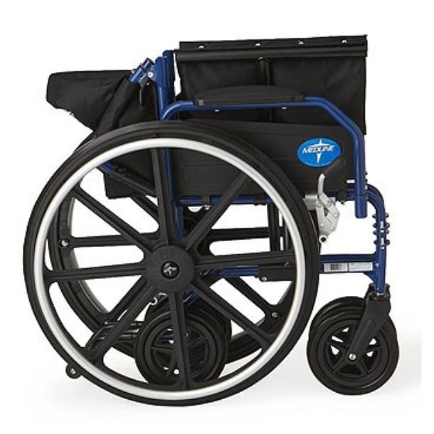 Hybrid 2 Wheelchair Chairs for Transportation
