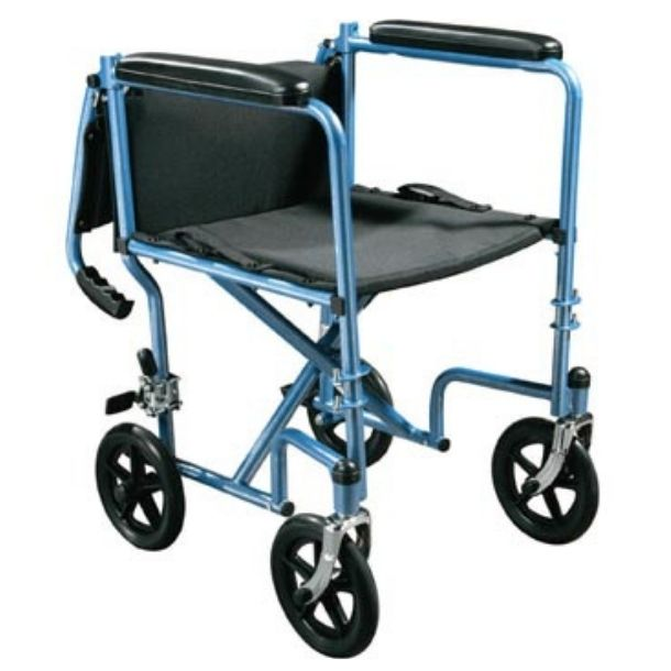 Steel Transport Chair with Drive