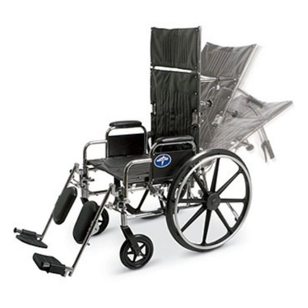Wheelchairs with Infinite Reclining
